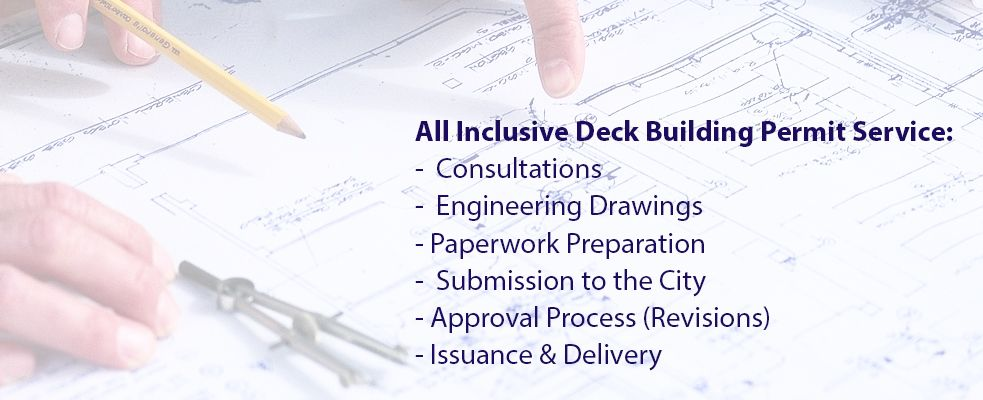 Deck Building Permit Drawings Service Ottawa