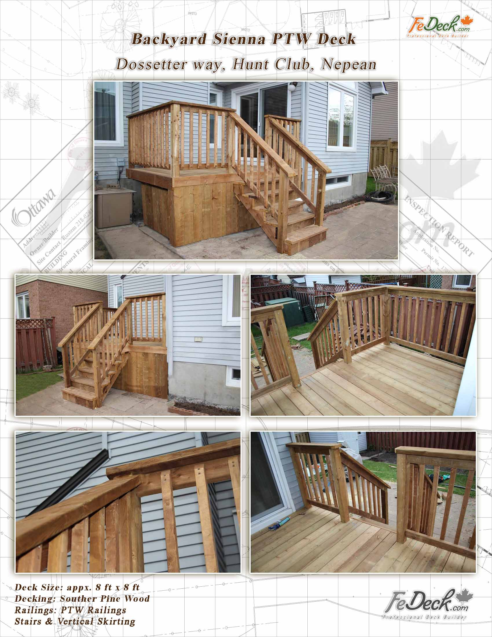 Small Backyard Decks Entrance Garden Deck